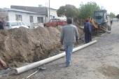 Extensión de Red Cloacal en calle Rosario de Santa Fé