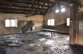 Se Incendio el centro comunitario de las 250 Viviendas en General Roca