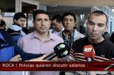 """Policías de Río Negro exigen una mesa salarial """"representativa"""""""