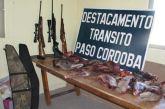 General Roca – Secuestran un camión robado y armas de fuego en Paso Córdoba