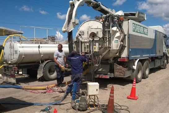 La Provincia inició la ejecución de obra cloacal por más de $3.200.000 en General Roca