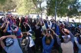 El Sábado Actividad Física al Aire Libre en la Plaza Patronato de General Roca
