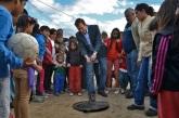 Se inauguró la Red Cloacal en Barrio Malvinas