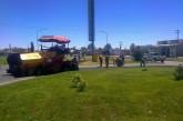Se realizaron reparaciones en la Rotonda de la Ruta 22