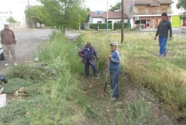 GENERAL ROCA – Se realiza limpieza de desagotes pluviales