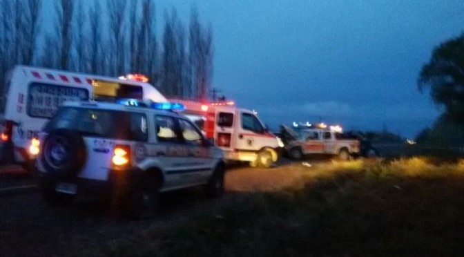 FATAL ACCIDENTE en la RUTA 22 entre ALLEN y GENERAL ROCA