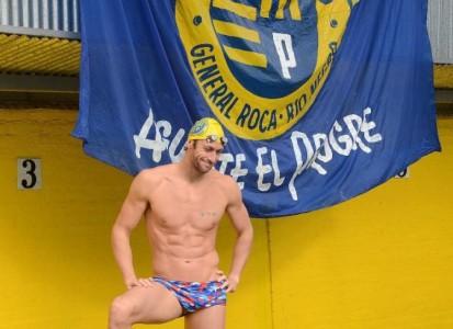 MEOLANS dio clínica de natación en el CLUB DEL PROGRESO de General Roca