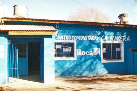 Refacciones en el Centro Comunitario del Barrio La Rivera
