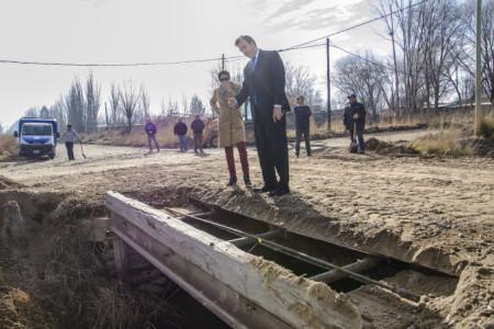 Reparación de Puente en zona rural