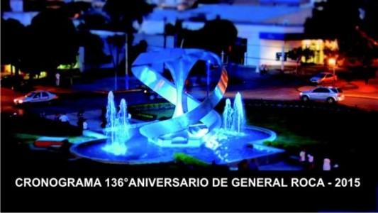 CRONOGRAMA 136°ANIVERSARIO DE GENERAL ROCA – 2015