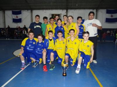 Gran actuación de los chicos de U13 del club DEL PROGRESO en el Provincial de Básquet