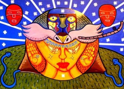 6° Encuentro  Artístico y Cultural Mapuche
