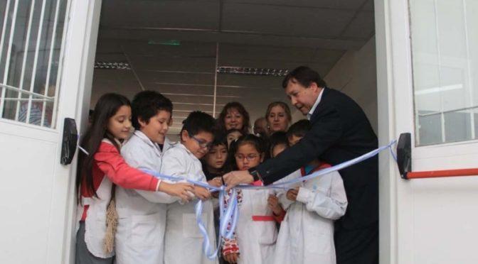 WERETILNECK INAUGURO OBRA de AMPLIACION de Escuela Primaria Nº 128 de GENERAL ROCA