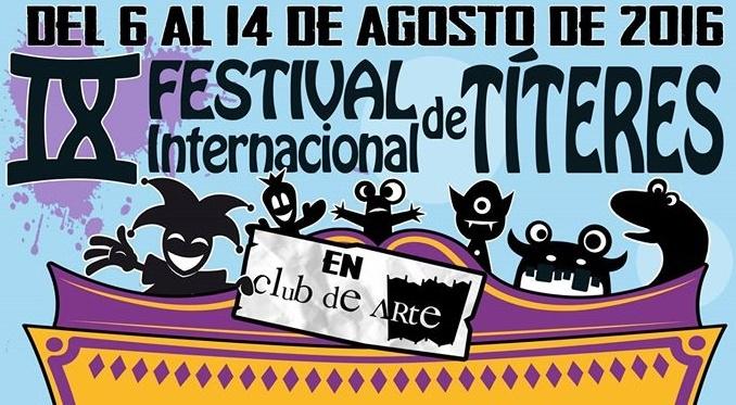 IX FESTIVAL INTERNACIONAL de TITERES en el BIOMBO